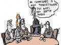 Commissarissen cartoon OR informatie